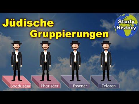 Die Jüdischen Gruppierungen Zur Zeit Jesu
