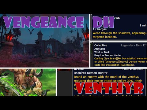 Venthyr - Vengeance Demon Hunter Shadowlands Beta