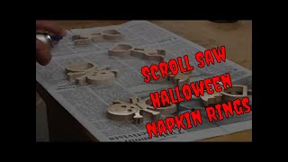 Scrollsaw Halloween Napkins Rings.wmv