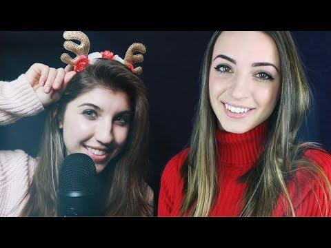 ASMR Singing You to Sleep w/ *Christmas Carols* ~ ft. Gibi ASMR