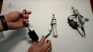Обзор автомобильной светодиодной лампы G5S Auto-LED для цоколя H7