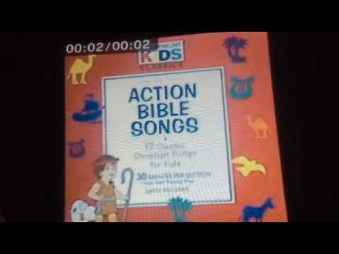 CD 1995 Cedarmont Kids Action Bible Songs