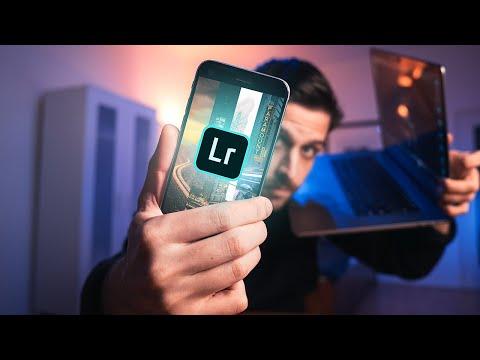 Как установить пресеты на телефон в Lightroom Mobile