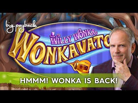 Willy Wonka Wonkavator Slot - NICE SESSION, MANY FEATURES! - 동영상