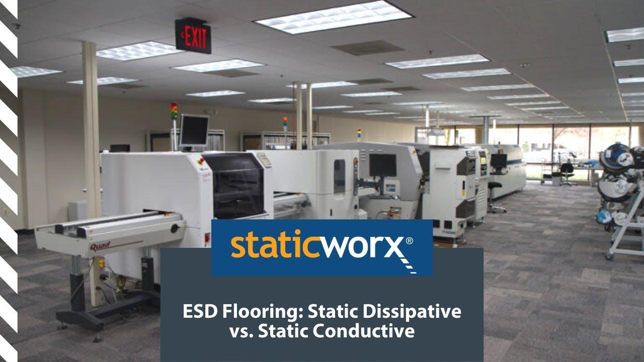 ESD Flooring Static Dissipative Vs Static Conductive YouTube - Conductive flooring specifications