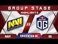 NaVi vs OG EPICENTER XL Major 2018 Highlights Dota 2