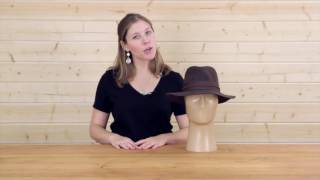 Women's Crushable Felt Hat