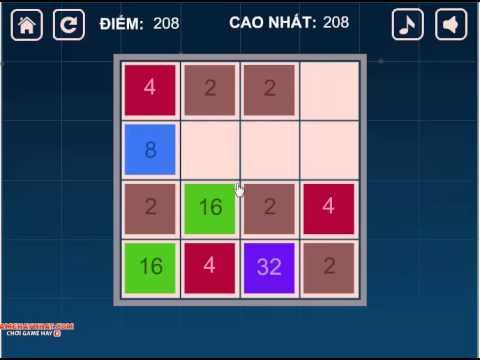 Xếp số 2048 – Game Trí Tuệ – Gamehaynhat.com