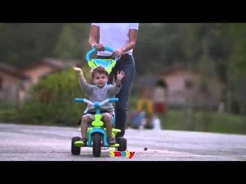 b590641ddcc Τρίκυκλο Smoby Toys - Βρεφικά πολυκαταστήματα ΛΗΤΩ - YouTube