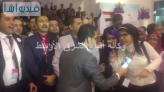 بالفيديو| مظاهر الاحتفال والفرح في ختام