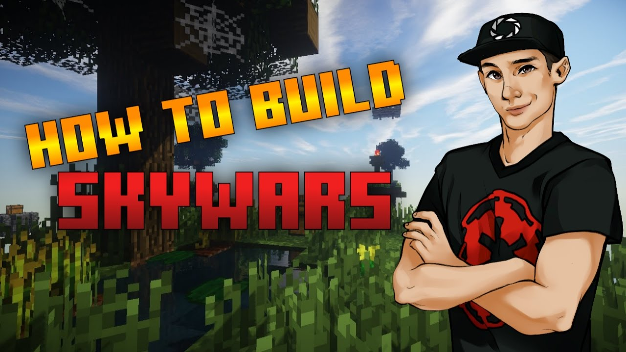 How To Build A Skywars Map in Minecraft!