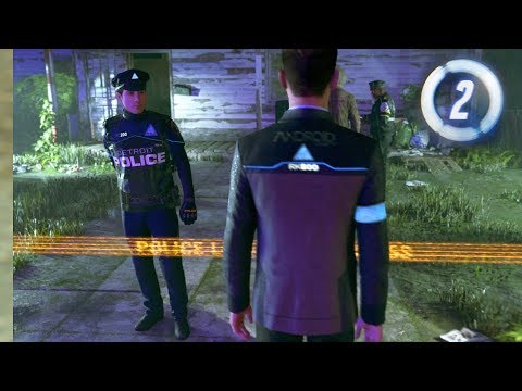 Detroit: Become Human - Part 2 - Crime Scene Investigation