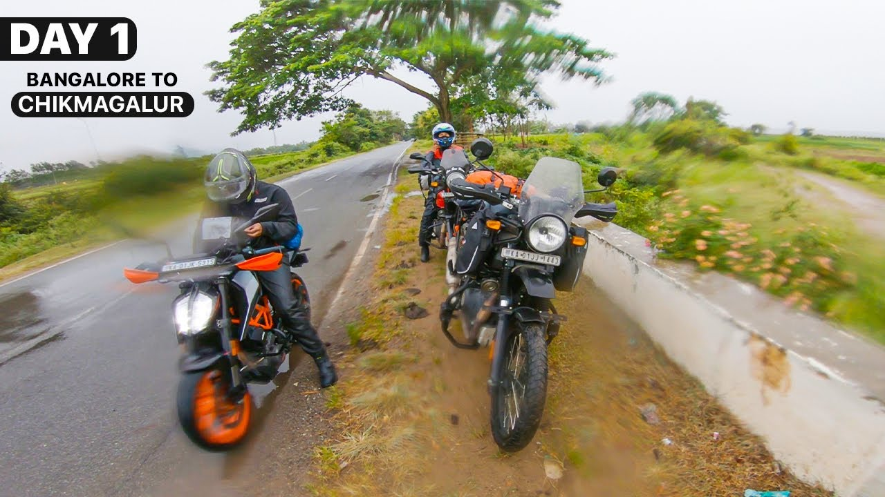 DAY 1 | Ep. 01 | BANGALORE TO CHIKMAGALUR - Himalayan BS6