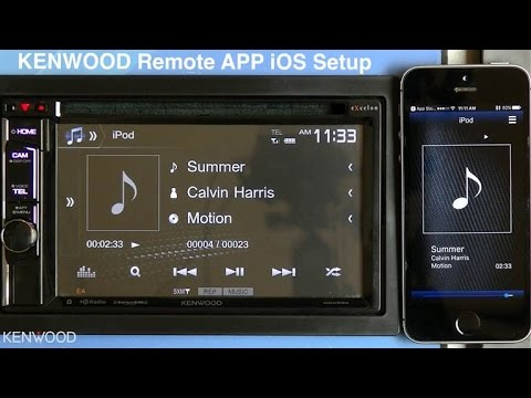 KENWOOD Remote App Setup for iOS on 2017 Multimedia Receivers ... on