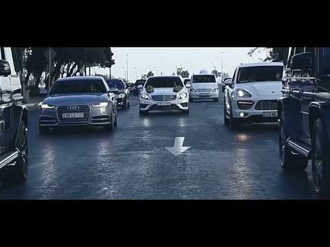 Wedding Cortege In Azerbaijan  2018