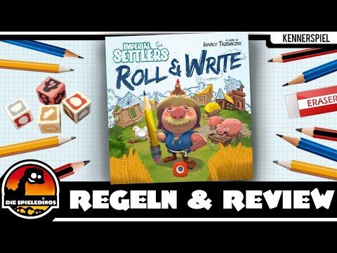 Imperial Settlers Roll & Write Regeln und Rezension