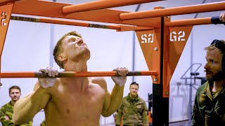 Insane Military Pull Up record