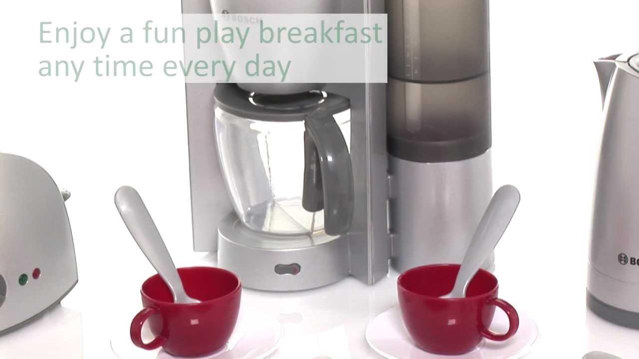 bosch kitchen set sink kit early learning centre breakfast toy youtube