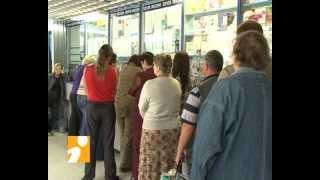 Очереди в почтовых отделениях