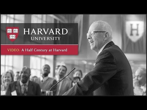 Reflections on a Half Century at Harvard