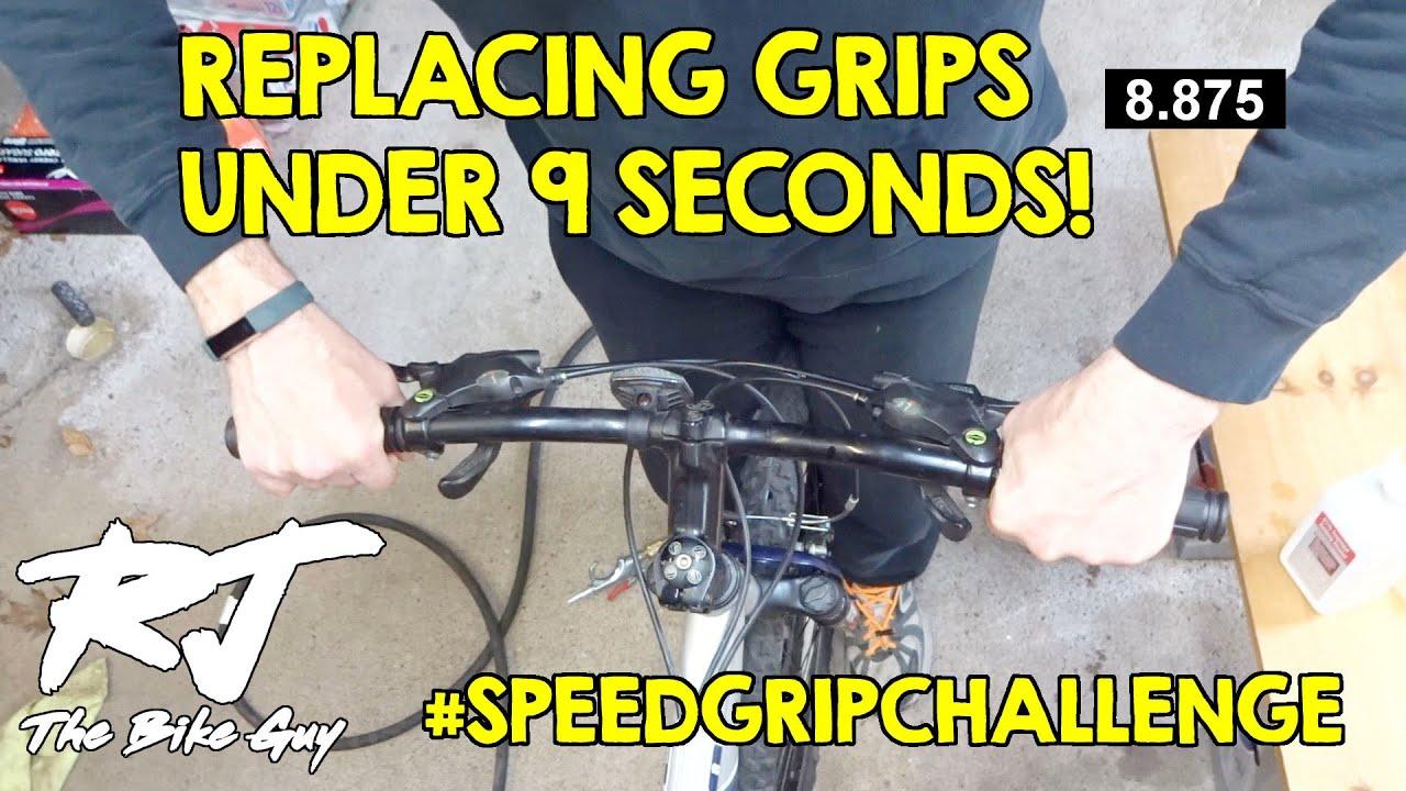 Replacing Grips In Under 9 Seconds! #SPEEDGRIPCHALLENGE