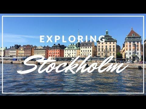 TRAVEL VLOG | EXPLORING STOCKHOLM 2017