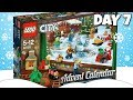 LEGO City DAY 7 Advent Calendar Christmas Holiday Surprise Toy Set Opening | Trusty Toy Channel