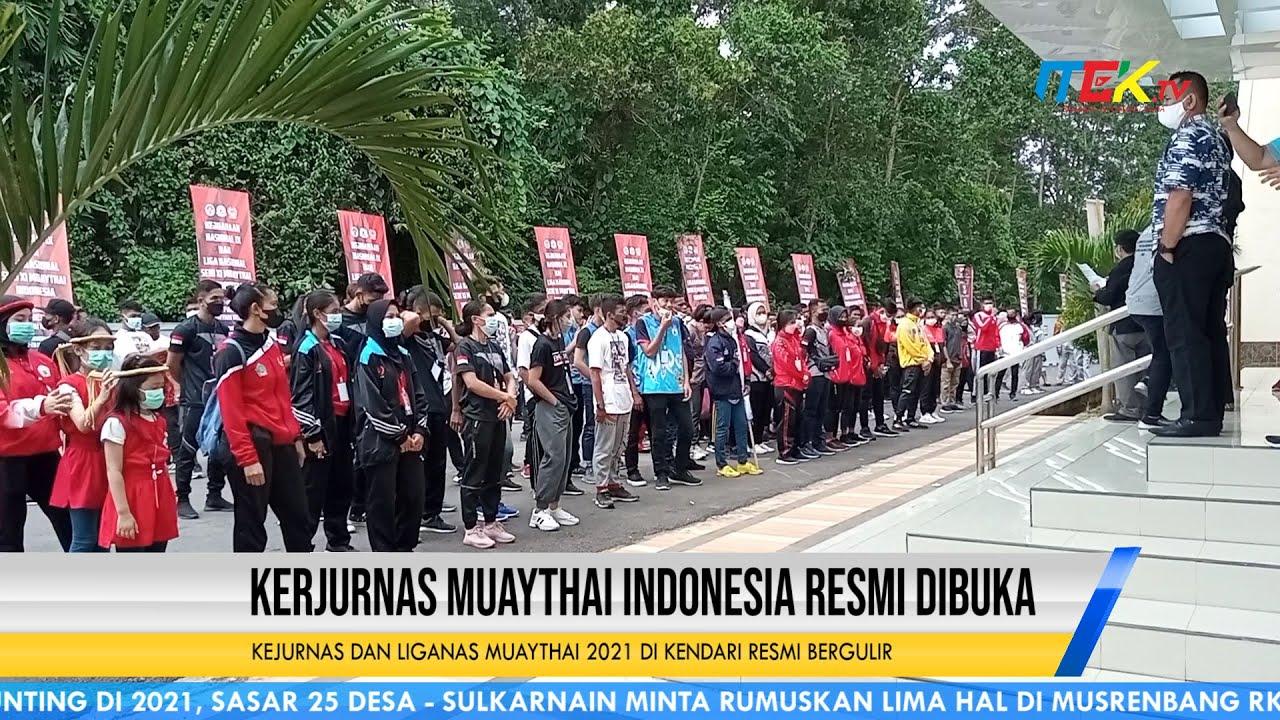 Kejurnas dan Liganas Muaythai 2021 di Kendari Resmi Bergulir