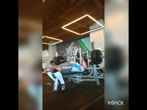 155kg Bench Press Türkiye Powerlifting 345lbs Benchpress ---170e Adım Adım