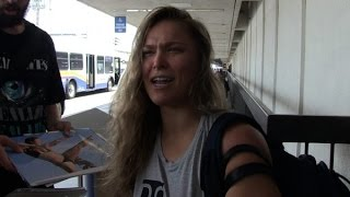 RONDA ROUSEY BEATS UP BOYFRIEND DOMESTIC VIOLENCE COVERUP