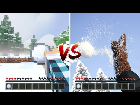 MINECRAFT vs VIDA REAL #03 - ( Minecraft vs Real Life )