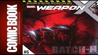 Weapon x #6 | comic book university