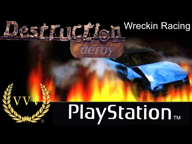 Destruction Derby - Wreckin Racing - Playstation 1