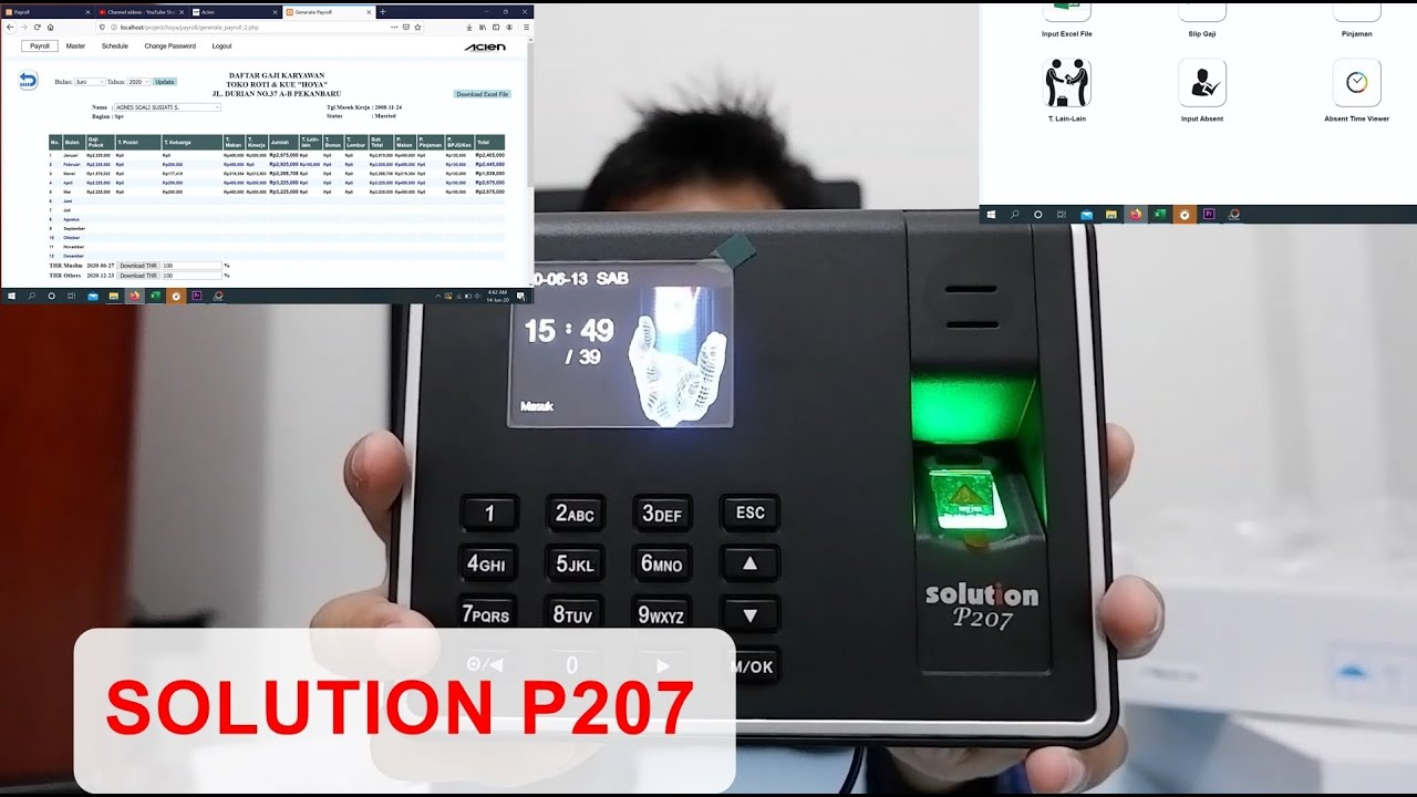Download SOLUTION P207 REVIEW | UNBOXING SOLUTION P207 | PAYROLL APLICATION