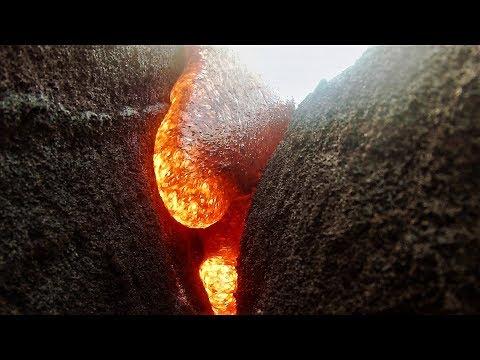 gopro被熔岩吞噬竟然還能繼續拍!《國家地理》雜誌