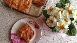 Шарлотка с яблоками на майонезе. Самый простой и вкусный рецепт.