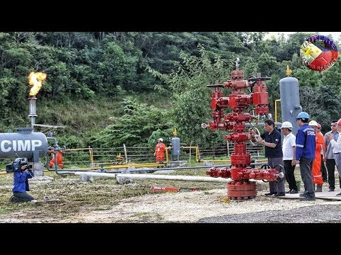 DUTERTE LATEST NEWS MAY 20, 2018 | DUTERTE LEADS CEREMONY OF GAS PRODUCTION OF THE ALEGRIA OILFIELD