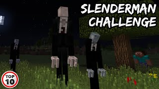 Top 10 Scary Minecraft Challenges