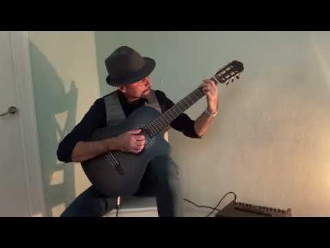 Silent Night acoustic version, chords + fingerpicking