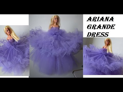 making ariana grande grammys dress barbie youtube making ariana grande grammys dress barbie