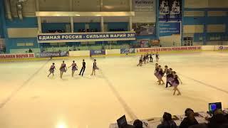 Чемпионат России по синхронному катанию  KMC  КП 3 Аквамарин ОМС