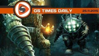 GS Times [DAILY]. Bioshock, «Фантастическая четвёрка 2», «Звёздные войны»