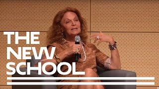 Diane Von Furstenberg: 40 Years of the Wrap Dress   Parsons School of Design