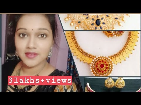 Maa Jewellery Wholesale Shop||1gm gold,CZ ||