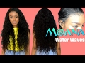 DIY MOANA Water Waves Lace Front Wig | Ali Moda | Summer Hairstyles 2017