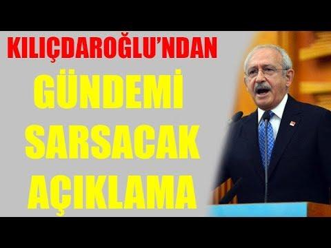 Kemal Kılıçdaroğlu'ndan gündemi sarsacak Erdoğan açıklaması