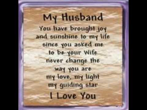 love quotes for my husband youtube