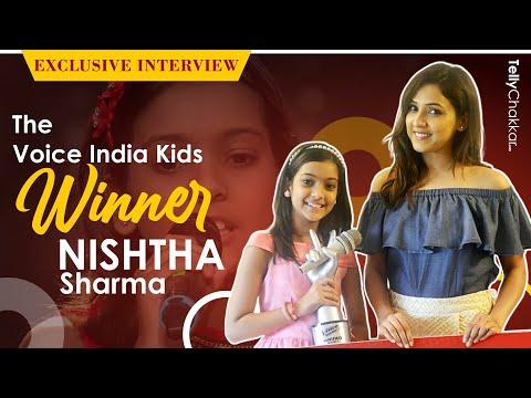 Meet The Voice India Kids WINNER Nishtha Sharma | Exclusive | Interview | Tellychakkar |