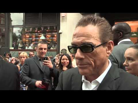 The Expendables 2 - UK Premiere Interviews