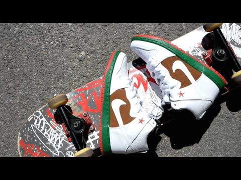 los angeles 3eb97 ff6f3 Nike Dunk SB Cali High 31st State Review   On Feet